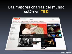 Las mejores charlas del mundo están en TED
