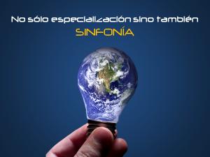 No sólo especialización sino también SINFONÍA