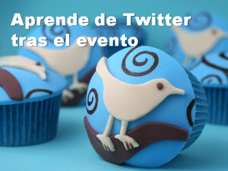 Backchannel: Aprende de Twitter tras el evento