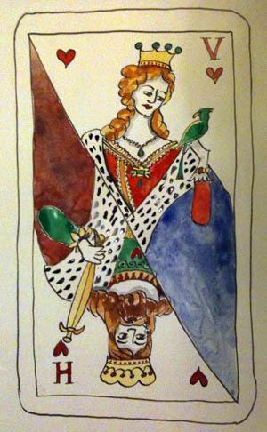 El Rey y la Reina (ilustración de la autora)