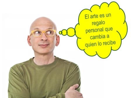 """""""El arte es un regalo personal que cambia a quien lo recibe"""" - Seth Godin"""