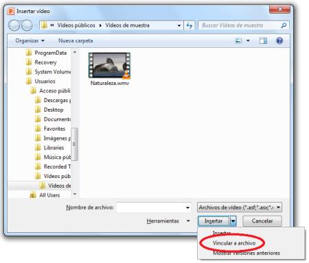 Vincula tus vídeos para que el tamaño de archivo no crezca fuera de control