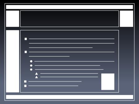 ¿Usan tus transparencias esta plantilla?