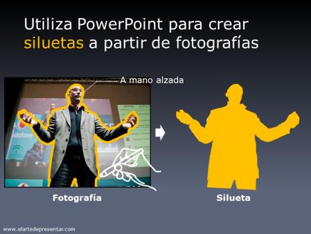 Utiliza PowerPoint para crear siluetas a partir de fotografías