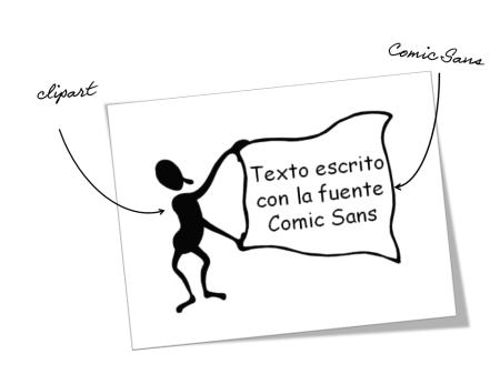 Clipart y Comic Sans te alejan del diseño profesional en presentaciones